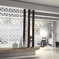 MYEUSSN - panel divisorio de 12 piezas,de plástico, adhesivo de pared, para salón, dormitorio, habitaciones, Hotel, Bar, escuela, decoración