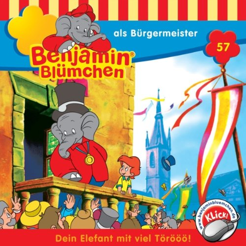 Benjamin als Bürgermeister audiobook cover art