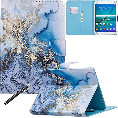 Universal Case for 6.5-7.5'' Tablet, Newshine Colorful Wallet Stand Cover for 7.0'' Samsung Galaxy Tablet, Amazon Kindle Fire 7/HDX 7 and Other Around...