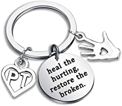 Gzrlyf Physical Therapy Gifts Physical Therapist Bracelet Heal The Hurting Restore The Broken Jewelry