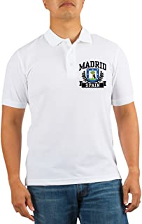 Madrid Spain Golf Shirt - Golf Shirt, Pique Knit Golf Polo