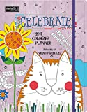 Wells Street by Lang Celebrate Monthly Coloring Planner, August 2016-December 2017 (17996091001)
