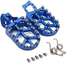 JFGRACING CNC MX Foot Pegs Footpegs Rest Pedals For Husqvarna 2016-2018 TC FC TE FE 85-501 TX FX 125-450 FX450