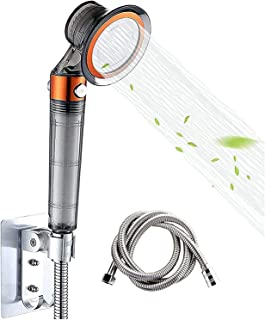 High-pressure mineral shower,stainless steel PP cotton filter shower,with switch triple filtration and water saving,can pr...