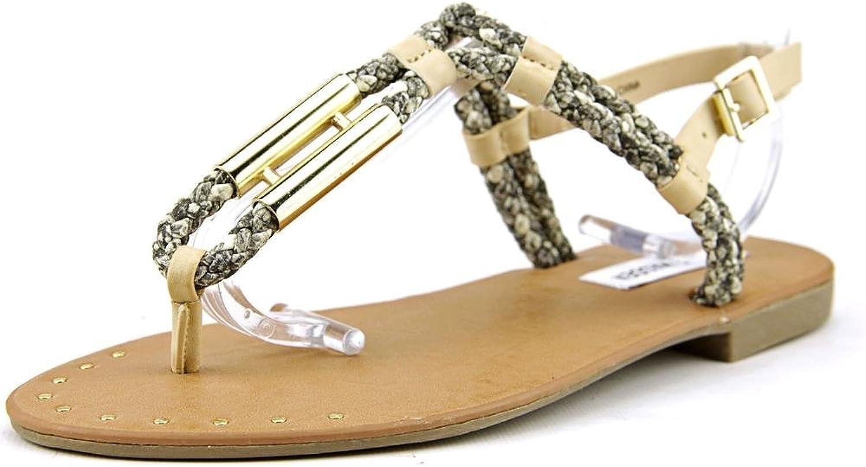 Steve Madden Womens Braidie Thong Beach Sandal shoes