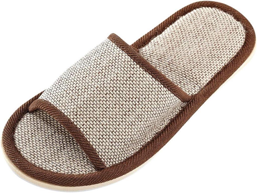Sandals For Women Flip Flops For Women Men Memory Foam Slippers,