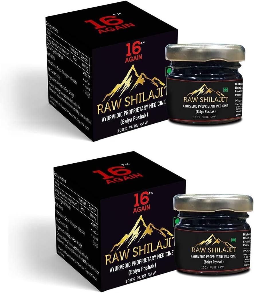 Organic Online limited product Ayurvedic Himalayan Raw Shilajit New York Mall Str Shilajeet for Extra