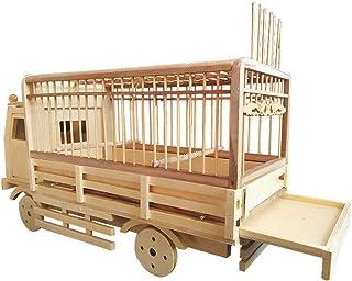 Productos de bambú Jaula de pájaros Modelo de automóvil
