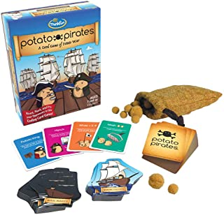 ThinkFun Potato Pirates Coding Card Game and STEM Toy for Boys and Girls Age 7 and Up - A Fun Card Game of Potato War
