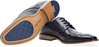 Gisburn Gibson Mens Lace Up Brogue Shoes