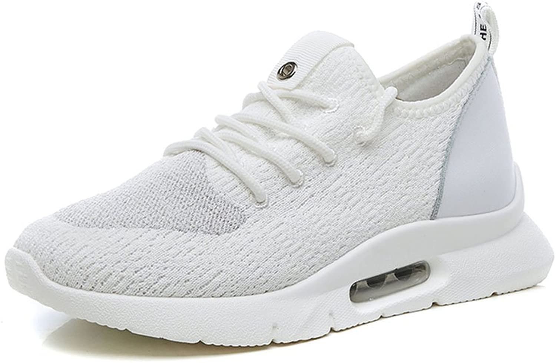 Damenschuhe Damenschuhe NAN Sommermode Breathable Single Schuhe Flut Schuhe Schwarz, Weiß Zwei Farben zur Auswahl (Farbe   Weiß, Größe   EU36 UK4 CN36)  genieße 50% Rabatt