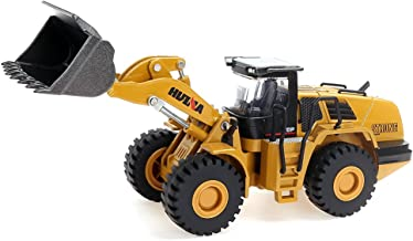 1/50 Scale Diecast Four Wheel Loader Truck Toy Metal Construction Equipment Bulldozer Models