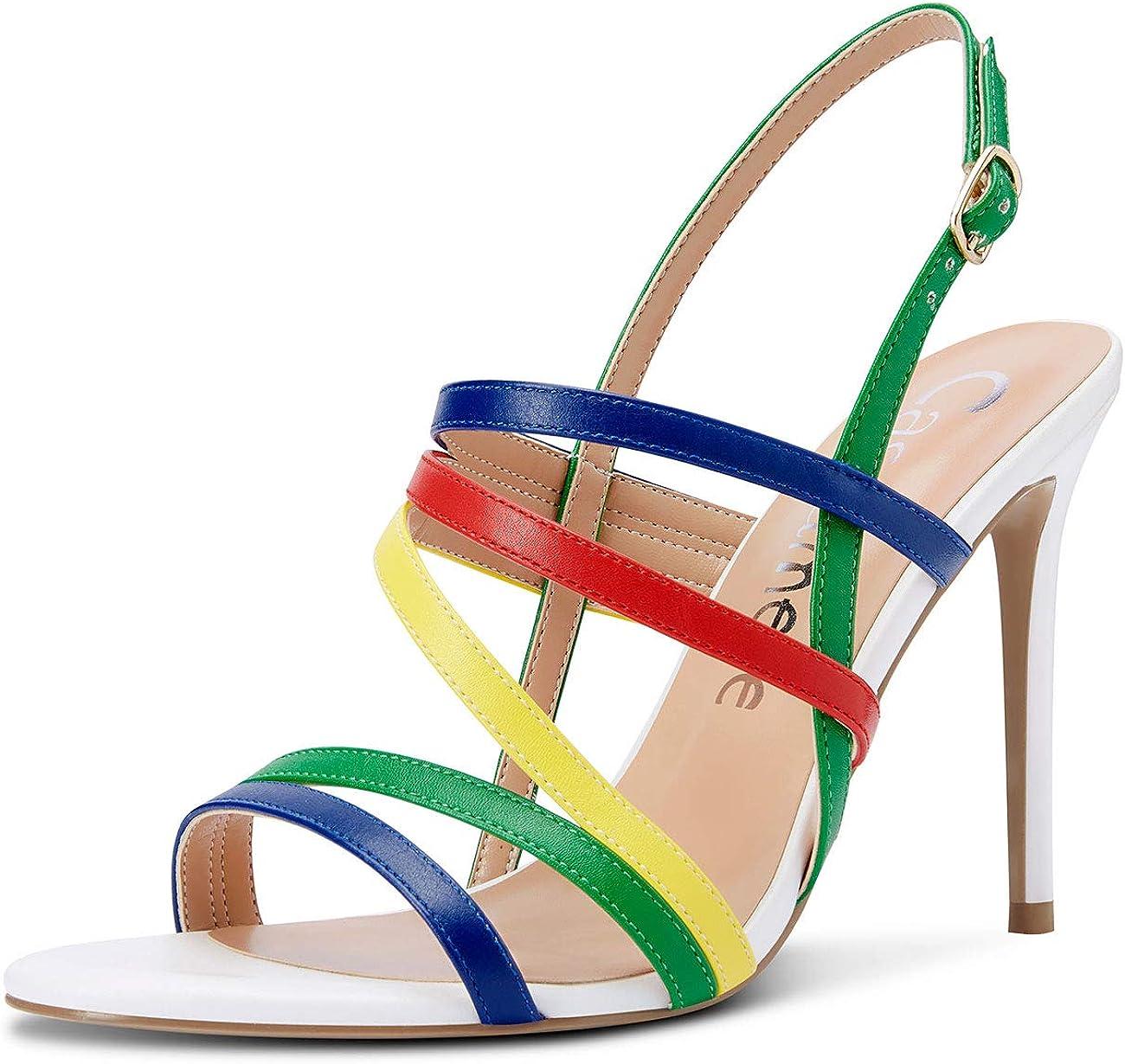 CASTAMERE Women High Heels Superlatite Roman Thin Stiletto Fixed price for sale Slingback Sandals