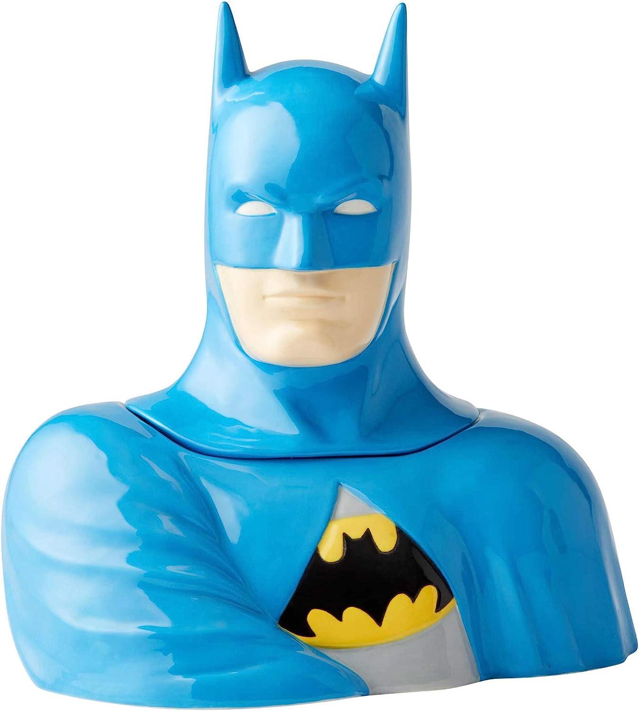 Enesco DC Comics lowest price Ceramics Batman Inch Jar Very popular 10.75 Cookie Canister