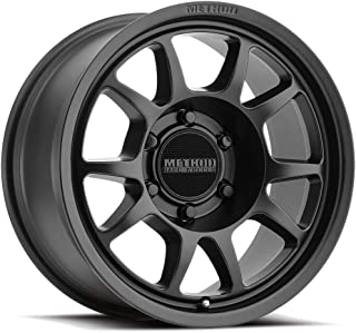 Method Race Wheels MR702 BLACK Wheel with Matte (0 x 8. inches /6 x 120 mm, 30 mm Offset)