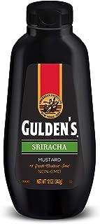 GULDEN'S Sriracha Mustard Squeeze Bottle, Keto Friendly, 12 oz.