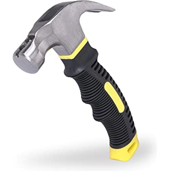 Best Choice 8-oz. Stubby Claw Hammer with Magnetic Nail Starter
