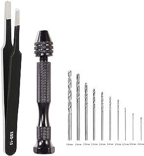 20 PCE Mixed MICRO HSS MINI TWIST DRILLS,Budget Mini Drill pieces,FAST FREE P/&P