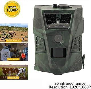 Meteor fire Cámara de Caza al Aire Libre Juego HD 1080P y cámara Trail Wildlifewaterproof con Sensor de Movimiento de visión Nocturna por Infrarrojos para la Naturaleza al Aire Libre jardín etc.