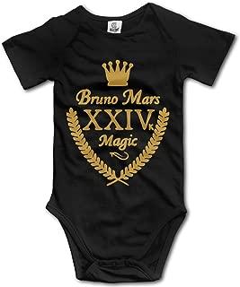 Cute Bruno Mars - 24K Magic Baby Onesie Toddler Bodysuit