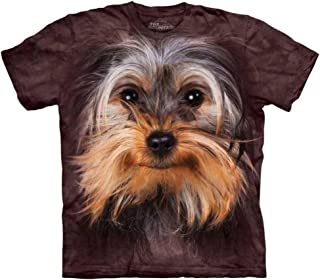 The Mountain Yorkshire Terrier Face Tee Shirt Adult S-XXXL