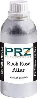 PRZ Rooh Rose Attar For Unisex (300ML) - Pure Natural Premium Quality Perfume (Non-Alcoholic)
