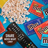 M&M'S Hazelnut Spread, Peanut Butter & Caramel Chocolate Halloween Candy Fun Size Variety Mix, 43 Ounces, 70 Pieces
