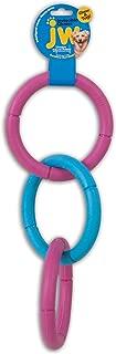 JW Pet Invincible Chains Rubber Dog Toy