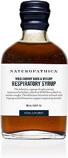 Naturopathica Wild Cherry Bark & Hyssop Syrup, 3.3 oz.