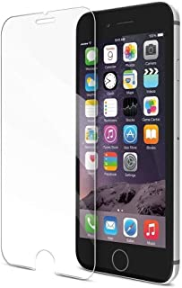iPhone 8/7/6S/6-Plus Screen Protector By Tempered Glass Touch-Screen Accurate Round Edge 0.3mm Ultra-Clear Perfect Fit Max...