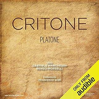 Critone [Crito] audiobook cover art