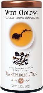 The Republic of Tea Wuyi Oolong Full-Leaf Black Tea, 1.75 Ounces / 50-60 Cups