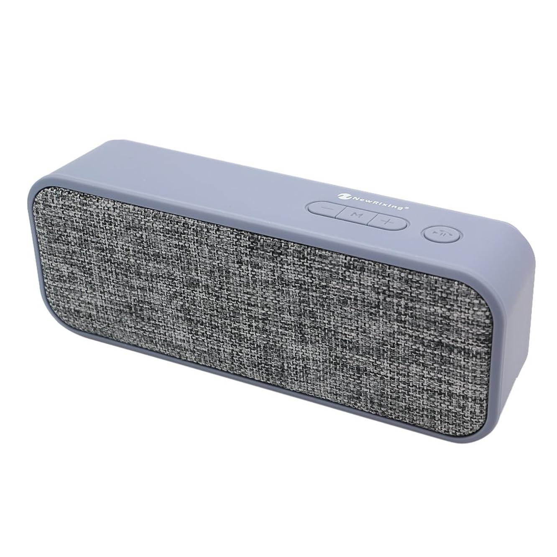 Vanpower Portable Net Cloth Wireless Bluetooth Speaker AUX TF Card FM (Pale Blue)