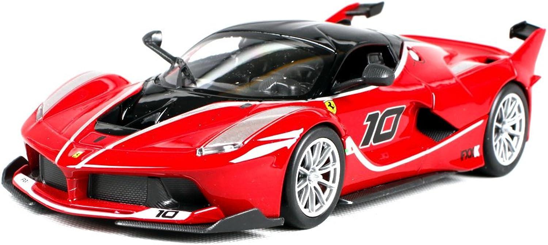 Penao Ferrari FXX K 10th car simulation alloy car model, car ornaments, ratio 1 24