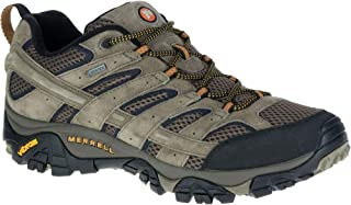 Merell Men s Moab 2 Leather GTX Outdoor Multisport Training Shoes, Walnut, 8.5 US