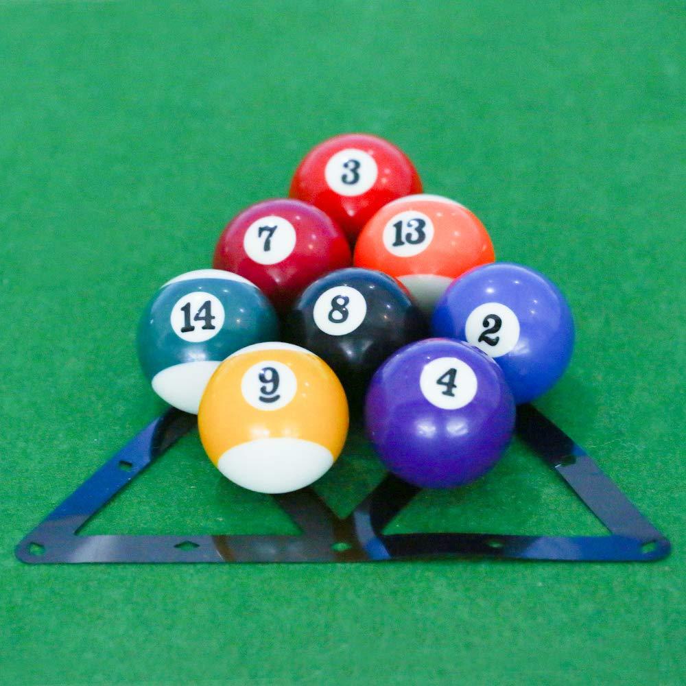 Dbloom - Juego de 6 Piezas de Bolas mágicas de Billar para Tacos, Bolas, triángulos, Accesorios de Bola 8/9/10, Paquete de 6: Amazon.es: Deportes y aire libre