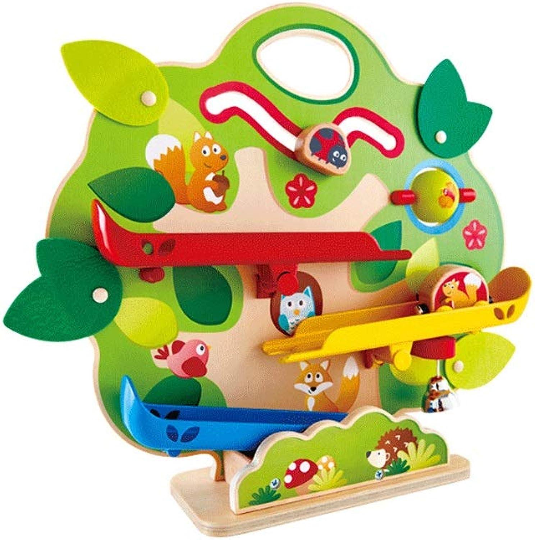 LINGLING-Piste Cadeau pour Enfants Big Tree Model Trolley Track Glide Boy Toy 2-6 Ans (Taille   L)