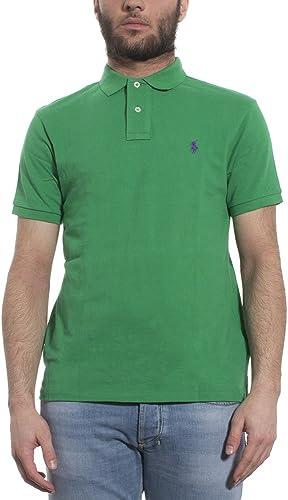 Ralph LAUREAN Polo vert, Homme.