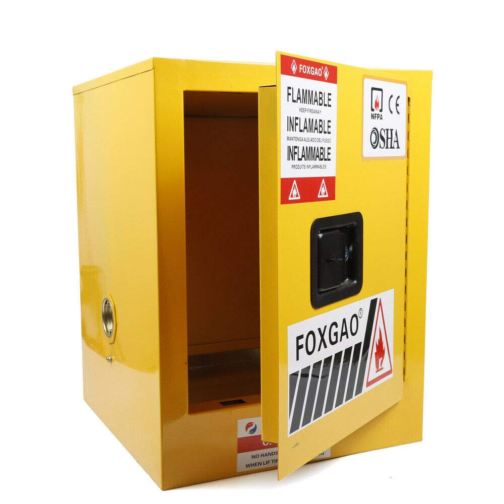 Ethedeal Safety Cabinet Al sold out. 12 sale Gallon Fireproof Steel Cab Flammable