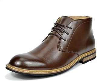 Bruno Marc Men`s Chukka Dress Ankle Boots