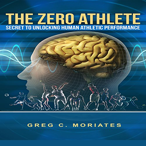 The Zero Athlete audiobook cover art