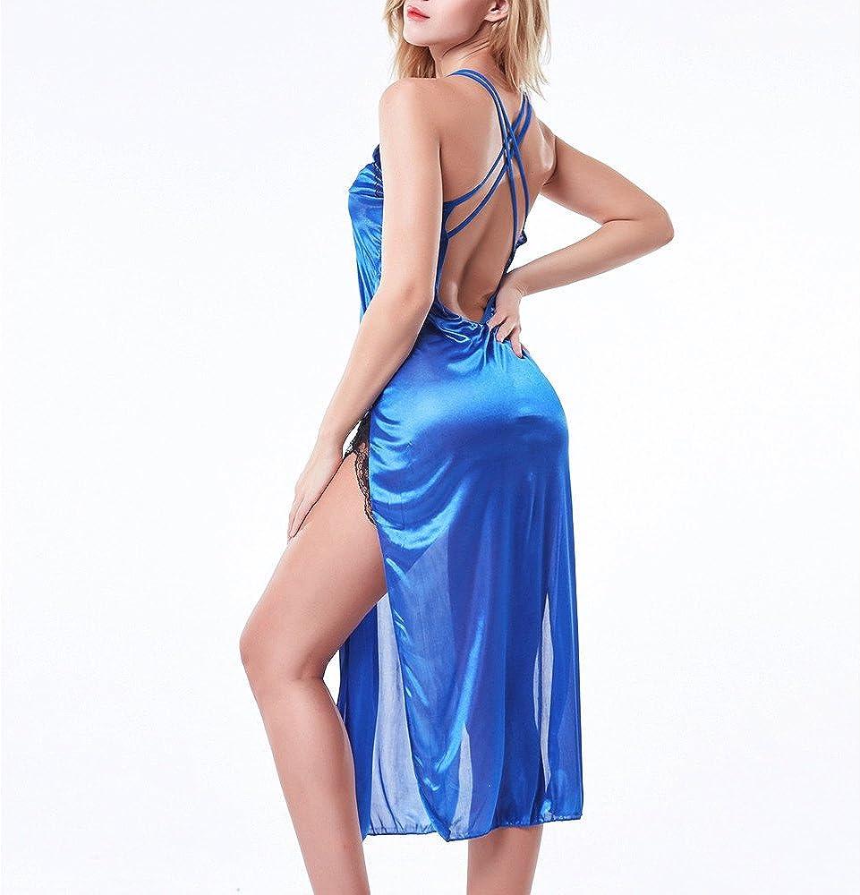 Exotic Lingerie for Women,Lace Underwear Plus Size Babydoll Nightwear Nightdress
