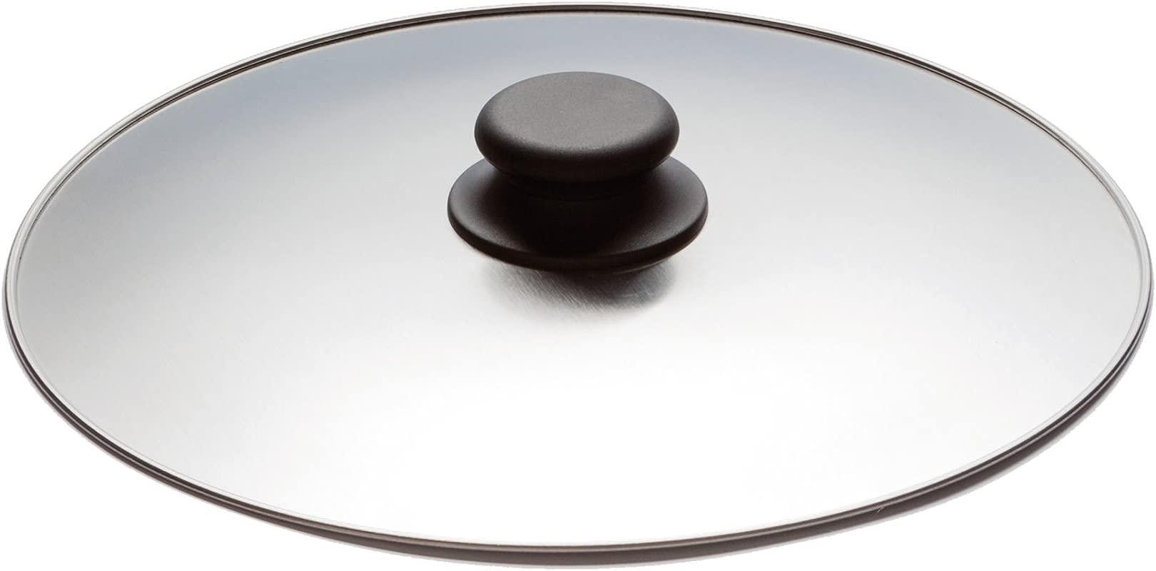 Inoxibar Spanish Omelette Flipper Lid 30cm Diameter Stainless Steel