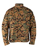Propper Men's Battle Rip ACU Coat, Large 2, Woodland Digital