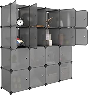 stackable cube storage system