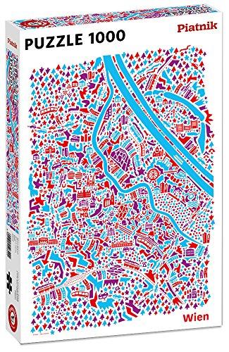 Piatnik 5484 Wien Puzzle