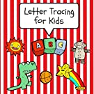 Letter Tracing for Kids: Practice Tracing Letters and Alphabet, Ages 3-5, Preschool, Red (ABC Learning for Toddlers, Presc...