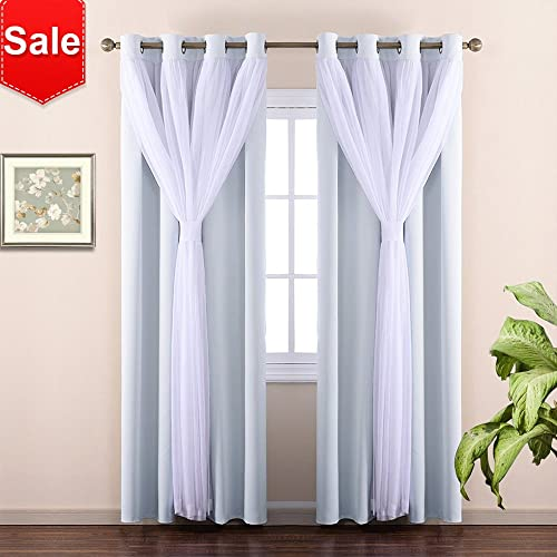 Modern Bedroom Curtains Amazon Com