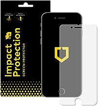 RhinoShield Protection écran compatible avec [iPhone SE2 / SE (2020) / iPhone 8 / iPhone 7]   [Anti-Chocs] Film Protecteur Haute qualité - Transparence 99% et résistance aux Rayures/Traces de Doigts