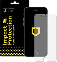 RhinoShield Screen Protector for iPhone 8 / iPhone 7 [Impact Protection] | Hammer Tested Impact Protection - Clear and Scratch Resistant Screen Protection